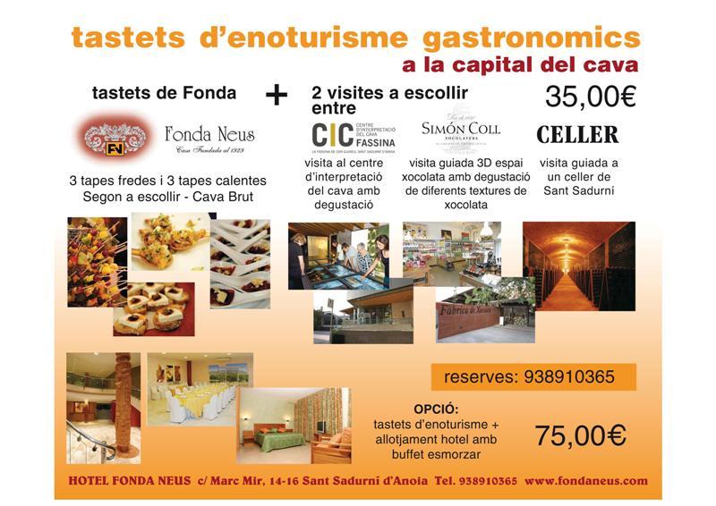 Paquet Tastets d'enoturisme gastronòmic